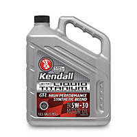 Kendall  GT-1 High Performance Synthetic Blend Ti 0W-20; 5W-20, 5W-30, 10W-30