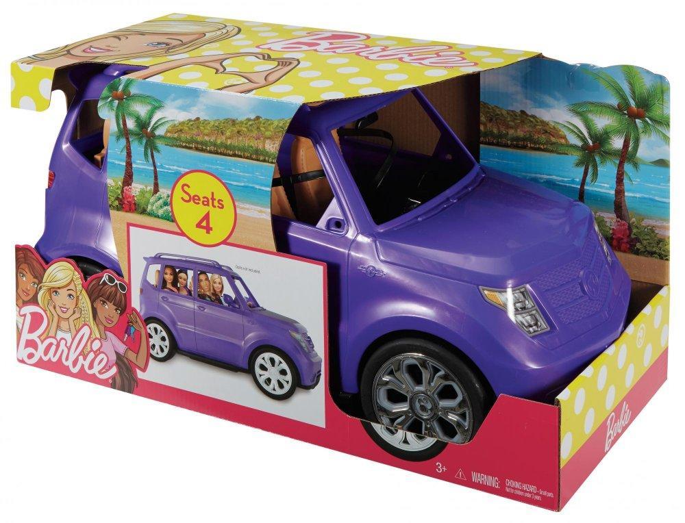 Barbie GLAM CUV (машина фиолетовая) - DVX58-9694