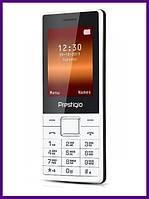 Телефон Prestigio 1241 DS (WHITE). Гарантия в Украине 1 год!
