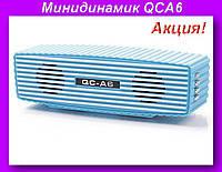 Минидинамик QCA6,Колонка на флешке+радио, фото 2