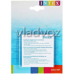 Ремкомплект клей Intex 59631 для ремонта надувных бассейнов, матрасов, фото 2