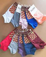 Короткие женские спортивные носки  ТМ Duna (арт.307)