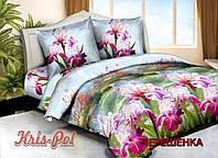 Семейный набор 3D постельного белья из Полиэстера №85296 KRISPOL™