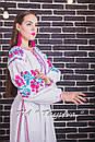 Вышитое платье  бохо вышиванка лен, этно, стиль бохо шик, вишите плаття вишиванка, Bohemian,стиль Вита Кин, фото 3