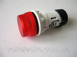 Лампа сигнальна LED матова TT01X1 240V AC червона