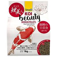 Корм для карпов Кои Tetra Pond Koi Beauty Medium 4 л / 1 кг (основное питание)