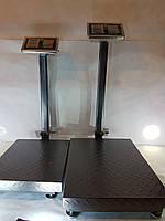 Весы торговые, напольные до 1000 кг с усиленной платформой 60х80 см, электронные торговые весы