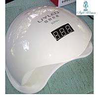 UV-LED Лампа SUN 5+ 48W лампа сенсорная UVLed лампа с дисплеем  белая оригинал 36 диодов