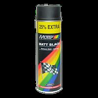 Краска Motip  ✔ цвет: черный матовый ✔ 500мл.