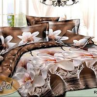 Постельное бельё полуторное 150*220 хлопок (6563) TM KRISPOL Украина