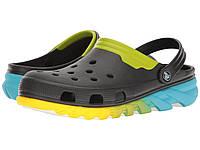 Кроксы Crocs Duet Max Ombre Clog цвет размер M10