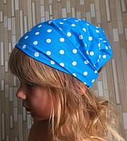 Панамка-повязка для девочек на ОГ 48-50 см