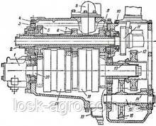 Вал вторинний 151Б.37.785-3 механічної коробки Т-150