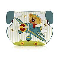 Автокресло бустер TEDDY 15-36 KG AQUAMARINE PILOT BEAR