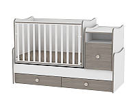 Кровать-трансформер TREND PLUS NEW COLOUR WHITE/COFFEE + mattress