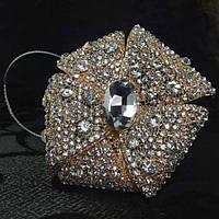 Декоративный магнит подхват для тюлей и штор № 1-102Магнит для тюлей № 1-102 Материал: металл, стразы Размер 1