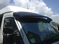 Козырек лобового стекла для Mercedes Sprinter TDI Черный, Мерседес Спринтер ТДИ