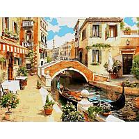 Картины по номерам 30 х 40 см. Венецианский мостик