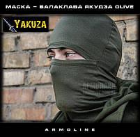 """Маска - балаклава """"YAKUZA"""" Олива, фото 4"""
