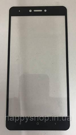 Защитное Full Screen стекло для Xiaomi Redmi Note 4x (Black), фото 2