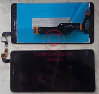 Дисплей модуль для Xiaomi Redmi Note 4x в зборі з тачскріном, чорний