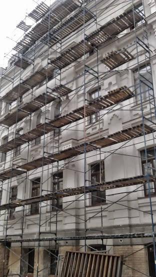 сдача в аренду лесов строительных, рамного типа. 2