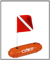 Буй для подводной охоты и дайвинга Omer Caravella омер каравелла