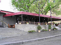 Навесы для летнего кафе и ресторана под ключ