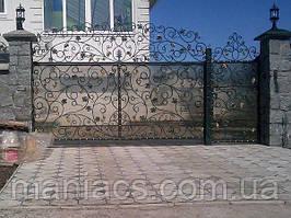 Кованные ворота и заборы под ключ !