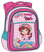 Ранец-рюкзак ортопедический Rainbow для девочки, 38х28х18 см, 7-519