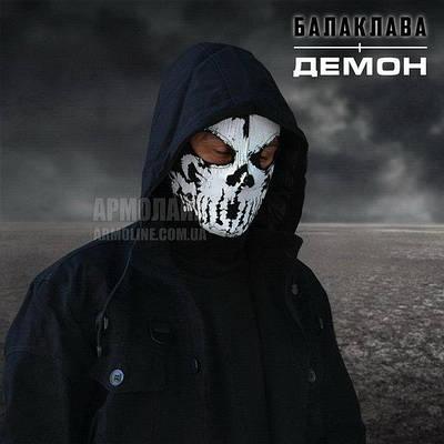 "Маска - балаклава ""ДЕМОН"" Black"