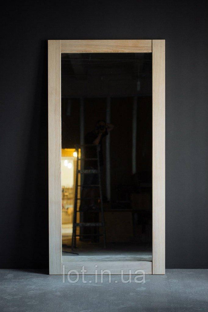 """Зеркало напольное  """"Lot Porto"""" 170х70х4см. Натуральное дерево, любой размер."""