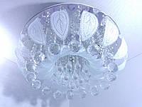 Люстра потолочная с цветной LED подсветкой YR-2166/500
