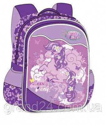 81b592630b86 Ранец-рюкзак ортопедический Rainbow для девочки, 38х28х18 см, 7-521 -  Интернет