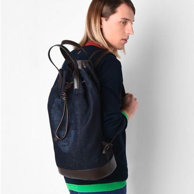 Джинсовый рюкзак Trussardi