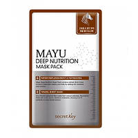 Secret Key Mayu Deep Nutrition Mask Pack Тканевая маска с конским жиром