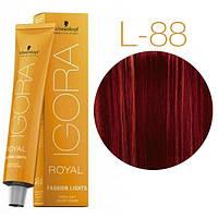 Schwarzkopf IGORA ROYAL Fashion Lights Оттенки для цветного мелирования L-88 красный