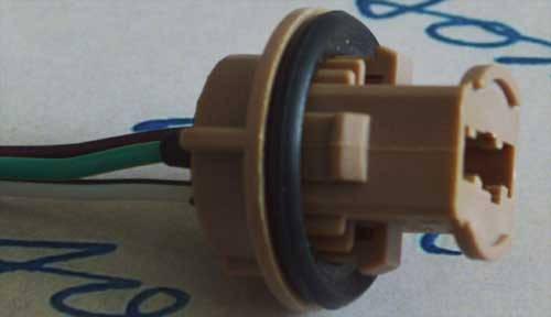 Автомобильный разъем под цоколь T20 (7443), фото 2