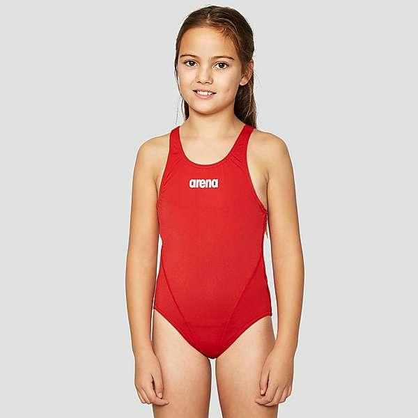 Купальник для девочки Arena Solid Swim Tech High