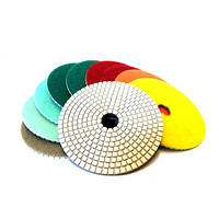 Флексы (полировальные диски) на мокрую белые d125