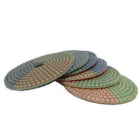 Флексы (полировальные диски) на мокрую 3 Color d125