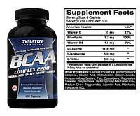 Купить всаа Dymatize Nutrition BCAA, 400 tabl