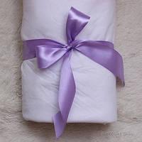 Лента для одеяла на выписку (фиолетовая)