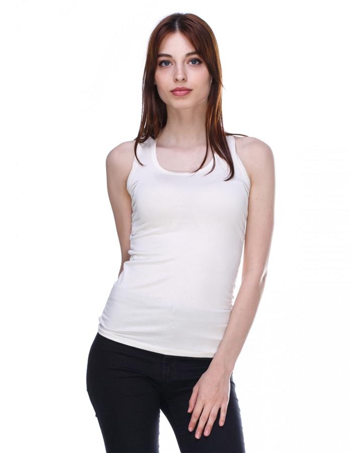 62c991d7297b0 Нежная стильная модная майка с кружевной спинкой , белая: продажа ...