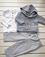 Кофта+рубашка+штаны для мальчика