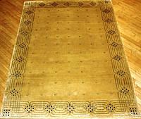 Непальский ковер ручной работы ( Go) золотой