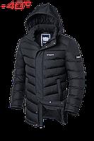 Куртка зимняя на меху удлиненная Braggart Aggressive - 1377R графит