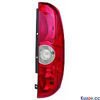 Фонарь задний Fiat Doblo 10- левый (DEPO) 2 двери
