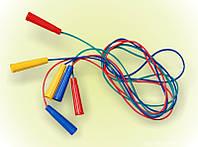 Скакалка цветная 2,20 см. Артикул 93457