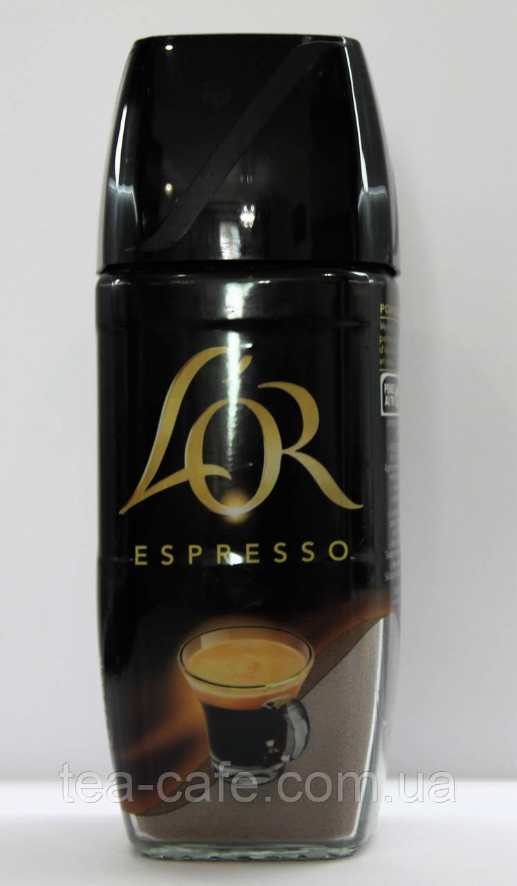 Кофе растворимый L'or Espresso стеклобанка 100гр.